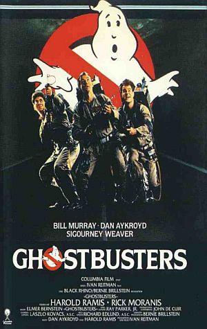 Ghostbusters mit Bill Murray, Dan Aykroyd, Sigourney Weaver, Harold Ramis und Rick Moranis
