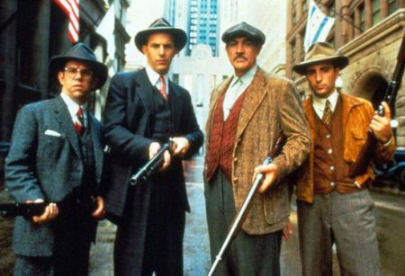 Die Unbestechlichen mit Kevin Costner, Sean Connery, Andy Garcia und Robert De Niro