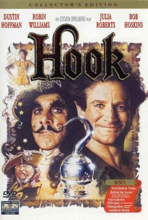 Hook mit Robin Williams, Dustin Hoffman und Julia Roberts