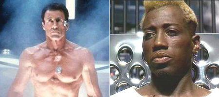 Demolition Man mit Sly Stallone & Wesley Snipes