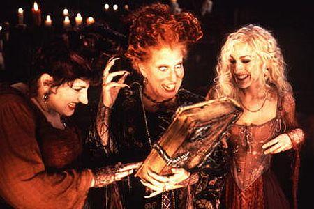 Hocus Pocus mit Bette Midler und Sarah Jessica Parker