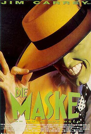 Scharlachrot die Masken für die Person und den Körper