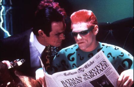 Batman Forever mit Val Kilmer, Jim Carrey, Tommy Lee Jones und Nicole Kidman
