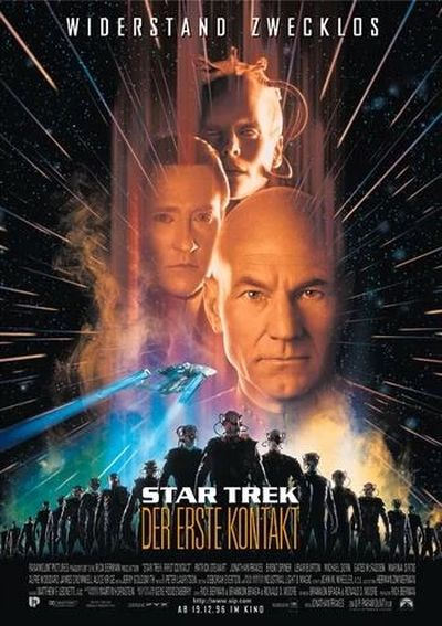 Star Trek: First Contact (mit Patrick Stewart)