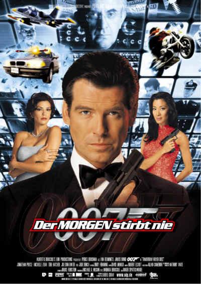 007 - Der Morgen stirbt nie (mit Pierce Brosnan, Jonathan Pryce und Teri Hatcher)