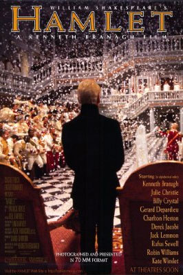 a review of the film adaptation of hamlet by william shakespeare English review of adaptations of shakespeare there have been more than 400 movie and tv adaptations of shakespeare plots hamlet has been adapted to the.