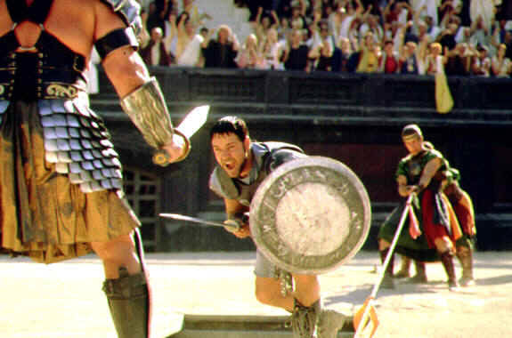 Gladiator (mit Russel Crowe und Joaquin Phoenix)