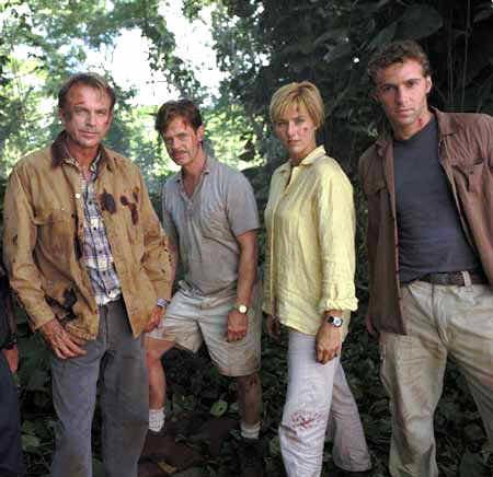 Jurassic Park 3 mit Sam Neill, William H. Macy und Téa Leoni