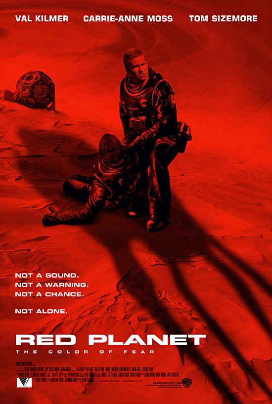 Red Planet (mit Val Kilmer und Carrie-Anne Moss)