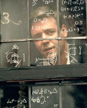 A Beautiful Mind - mit Russell Crowe