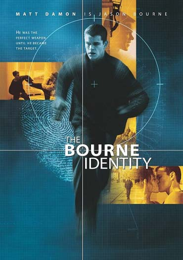 Die Bourne Identität mit Matt Damon und Franka Potente