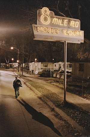 8 Mile mit Eminem, Kim Basinger, Mekhi Phifer und Brittany Murphy