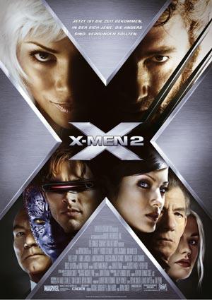 X-Men 2 mit Hugh Jackman, Patrick Stewart, Halle Berry und Ian McKellen