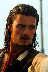 Fluch der Karibik mit Johnny Depp, Orlando Bloom und Keira Knightley
