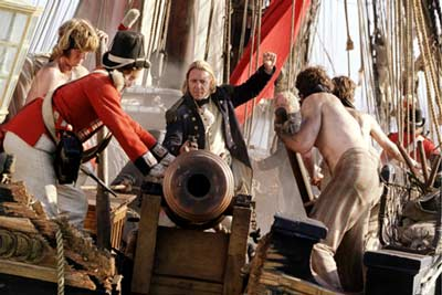 Master and Commander mit Russell Crowe