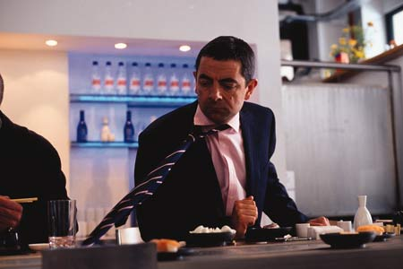 Johnny English mit Mr.Bean Rowan Atkinson