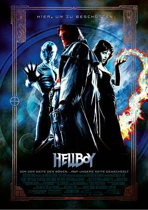 Hellboy mit Ron Perlman