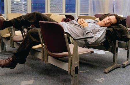 Terminal mit Tom Hanks und Catherine Zeta-Jones