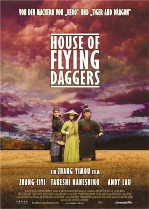 House of Flying Daggers von Zhang Yimou mit Zhang Ziyi