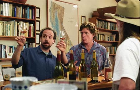 Sideways mit Paul Giamatti und Christian Hayden Church