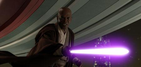 Star Wars: Episode III - Die Rache der Sith mit Hayden Christensen und Natalie Portman