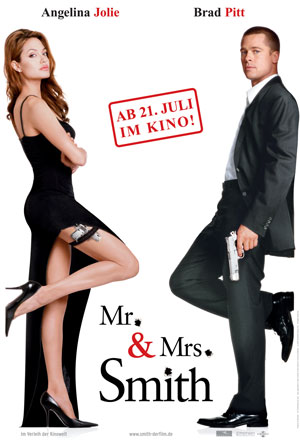 Mr. & Mrs. Smith - mit Brad Pitt und Angelina Jolie