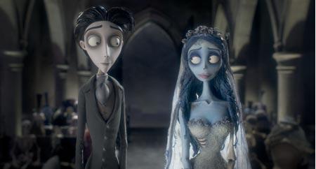 Tim Burton's Hochzeit mit einer Leiche