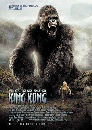 King Kong von Peter Jackson mit Jack Black und Naomi Watts