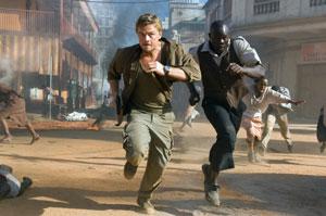 Blood Diamond mit Leonardo DiCaprio und Djimon Hounsou