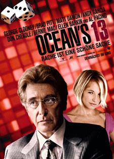 Oceans 13 mit George Clooney und Brad Pitt