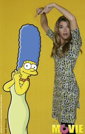 Anke Engelke spricht Marge Simpson