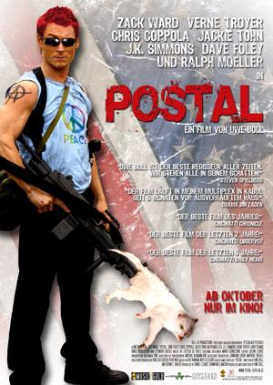 Postal mit Zack Ward
