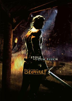 Die Legende von Beowulf mit John Malkovich, Anthony Hopkins, Ray Winstone und Angelina Jol