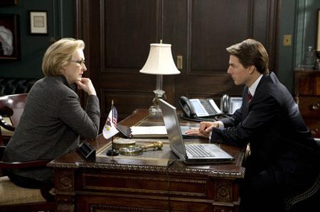 Von Löwen und Lämmern mit Robert Redford, Andrew Garfield, Meryl Streep und Tom Cruise.