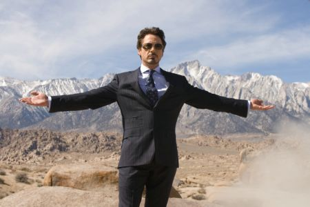 Iron Man mit Robert Downey Jr, Jeff Bridges, Gwyneth Paltrow und Terrence Howard