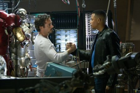 Iron Man mit Robert Downey Jr, Jeff Bridges, Gwyneth Paltrow und Terrence Howard