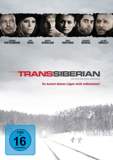 Transsiberian (mit Ben Kingsley und Emily Mortimer)
