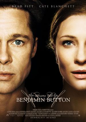 Der seltsame Fall des Benjamin Button mit Brad Pitt und Cate Blanchett