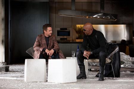 Iron Man 2 (mit Robert Downey Jr., Scarlett Johansson und Gwyneth Paltrow)