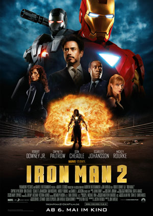Iron Man 2 (mit Robert Downey Jr., Scarlett Johansson und Gwyneth Paltrow)