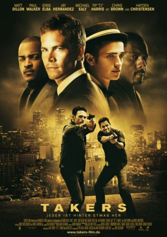 Takers (mit Paul Walker und Matt Dillon)