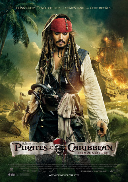 Pirates of the Caribbean - Fremde Gezeiten (mit Johnny Depp)