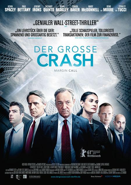 Der große Crash (mit Kevin Spacey, Jeremy Irons, Demi Moore und Zachary Quinto)