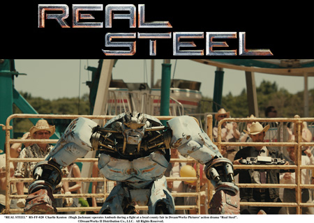 Real Steel (mit Hugh Jackman)