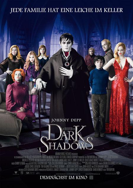 Dark Shadows (von Tim Burton und mit Johnny Depp)
