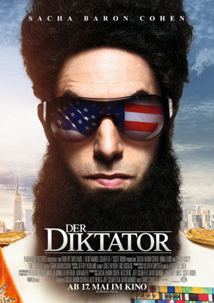 Der Diktator (mit Sacha Baron Cohen)