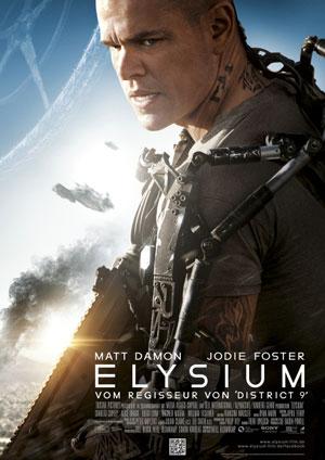 Elysium (mit Matt Damon, Jodie Foster und Sharlto Copley)
