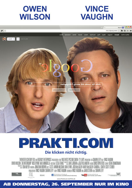 Prakti.com (mit Vince Vaughn und Owen Wilson)