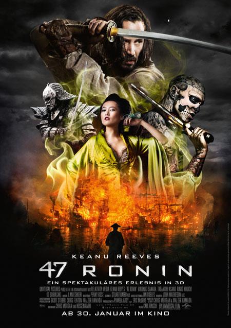 47 Ronin (mit Keanu Reeves)