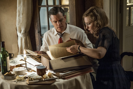 Monuments Men (mit Matt Damon und Cate Blanchett)